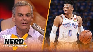 Download Russell Westbrook isn't built for the playoffs & his handling of media reflects it | NBA | THE HERD Video