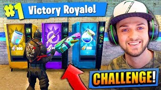 Download VENDING MACHINE *ONLY* CHALLENGE in Fortnite: Battle Royale! Video