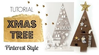 Download MAKE A CHRISTMAS TREE PINTEREST STYLE with cardboard Video