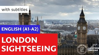 Download English - London sightseeing (A1-A2 - with subtitles) Video
