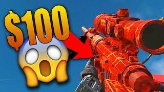 Download THE $100 GUN CAMO IN INFINITE WARFARE Video