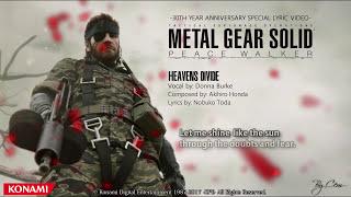 Download Metal Gear Solid : Peace Walker - ''Heavens Divide'' Lyrics [4K] Video