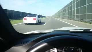 Download BMW M3 E92 vs. Ford Mustang Shelby GT500 top speed Video