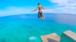 Download SIQUIJOR ISLAND Philippines - CLIFF JUMPING into CRYSTAL CLEAR WATER Video
