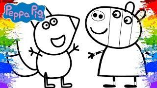 Download Desenho da Peppa Pig Português Brasil | Video para Crianças | Freddy Fox Zoe Zebra | Peppa Pig Video