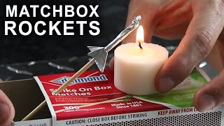Download How To Make a Matchbox Rocket Launching Kit Video