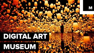 Download Japan's First Digital Art Museum Makes Visitors A Part Of The Installation Video