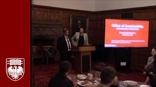 Download Wednesday Lunch: Sumit Ray and Sara Popenhagen from the Office of Sustainability Video
