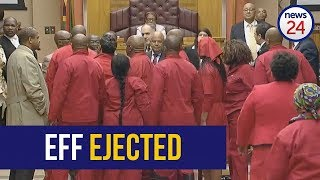 Download WATCH: EFF thrown out of Gordhan budget vote address after tense standoff Video