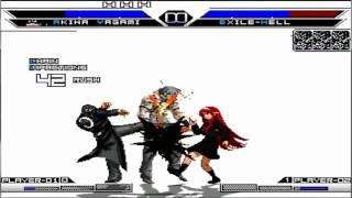 Download Kof Mugen New Akiha Yagami VS Súper Bosses Video
