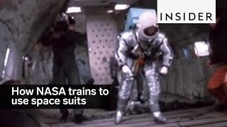 Download This is how NASA trained its astronauts to use space suits Video