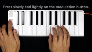 Download CME Pro Xkey MIDI keyboard -the answer of next generation mobile music - features demo Video