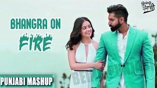 Download Bhangra on Fire Punjabi Mashup 2017 | Latest Punjabi Songs 2017 | Non Stop Bhangra Remix Songs 2017 Video