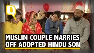Download Muslim Couple Abides by Hindu Rituals to Marry Off Adopted Son   The Quint Video