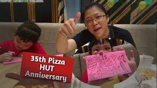 Download Giselle & Mama Yenny at Pizza HUT 35th Anniversary dan Review Menu Baru Pizza HUT Full Version Video