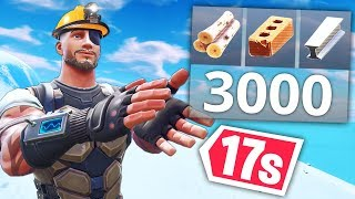 Download BUILD 3000 MATERIALS IN 17s..!! | Fortnite Funny and Best Moments Ep.399 (Fortnite Battle Royale) Video
