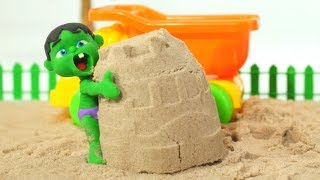 Download Tommy Plays With Sand 💕 Cartoons For Kids Video