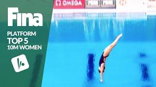 Download Top 5 - Women's 10m |FINA/NVC Diving World Series - Kazan 2017 Video