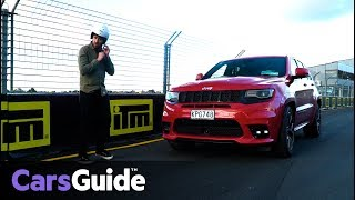 Download Jeep Grand Cherokee SRT 2017 review: track test Video