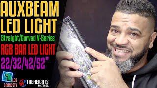 Download #Auxbeam RGB LED Light Bar💡 : #LGTV Review Video