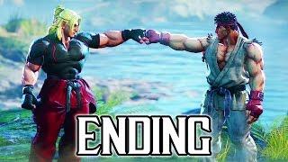 Download Street Fighter 5 - Story ENDING Walkthrough PART 6 @ 1080p (60fps) HD ✔ Video