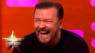 Download RICKY GERVAIS' FUNNIEST MOMENTS on The Graham Norton Show Video