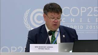 Download Press conference: WMO provisional statement on the State of the Global Climate in 2019- 03/12/19 Video