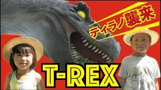 Download 恐竜が近くで見れる場所発見!!〜富士ジュラシックウェイ〜  T-rex attack Video