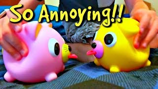 Download Most Annoyng Toy Ever!! Oshaberi Talking Animals! Video