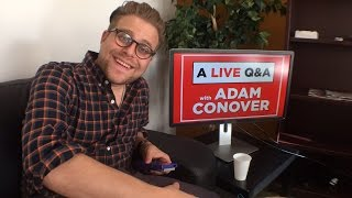 Download Adam Conover of Adam Ruins Everything Q&A LIVE! Video