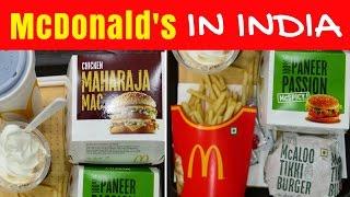 Download McDonald's in India | Eating Indian McDonalds menu taste test in Kolkata Video