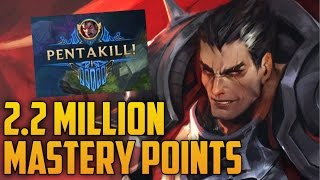 Download Bronze to Silver DARIUS 2,200,000 MASTERY POINTS- Spectate 2nd Highest Mastery Points on Darius Video
