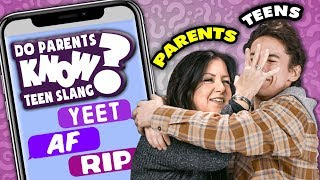 Download Do Parents Know Their Teens' Favorite Slang? | React: Do They Know It? Video