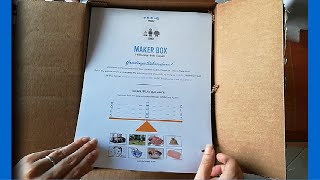 Download Maker Box: una scatola creativa da scoprire #MKR02 Video