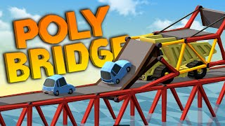Download TROUBLESOME TROPICAL PARADISE - Poly Bridge New World Gameplay Video