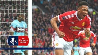 Download Man Utd 1-1 West Ham - Emirates FA Cup 2015/16 (R6) | Goals & Highlights Video