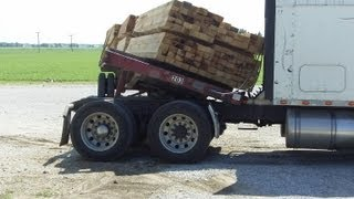 Download Epic Wood Load Shift Fail Video
