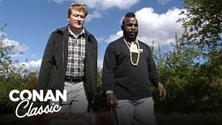Download Conan Goes Apple Picking With Mr. T - Conan25: The Remotes Video