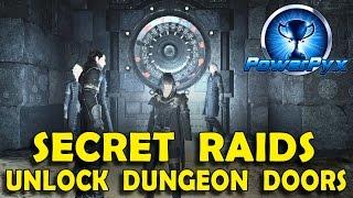 Download Final Fantasy XV - How to Open Locked Vault Doors in Dungeons (Secret Endgame Raids) Video