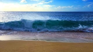 Download Ocean Waves Relaxation 10 Hours | Soothing Waves Crashing on Beach | White Noise for Sleep Video