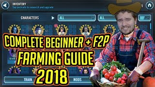 Download Complete Beginner + F2P Character Farming Guide for 2018! | Star Wars: Galaxy of Heroes Video