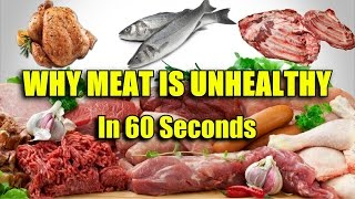 Download Why Meat Is Bad For You- In 60 Seconds Video