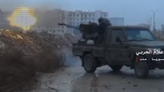 Download Raw: Heavy Fighting Continues in Aleppo Video