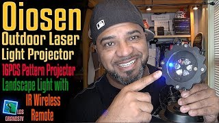 Download Oiosen Laser Christmas Lights Projector 💡✨💡✨ : LGTV Review Video
