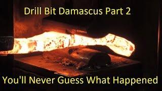 Download Blacksmithing-Drill Bit Damascus WINNER!!! Video