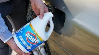 Download What Happens If You Fill Up a Car with Bleach? Video