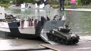 Download RC Boat - Landing Craft and Tanks at ASK Show Case 2014 Video