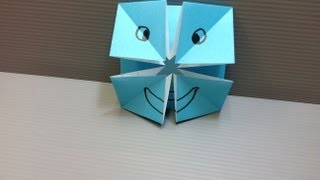 Download Daily Origami: 023 - Changing Faces Video