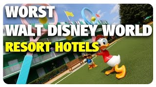 Download WORST Walt Disney World Resort Hotels! | Best & Worst 04/26/17 Video