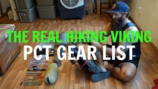 Download The Real Hiking Viking's PCT Gear List Video